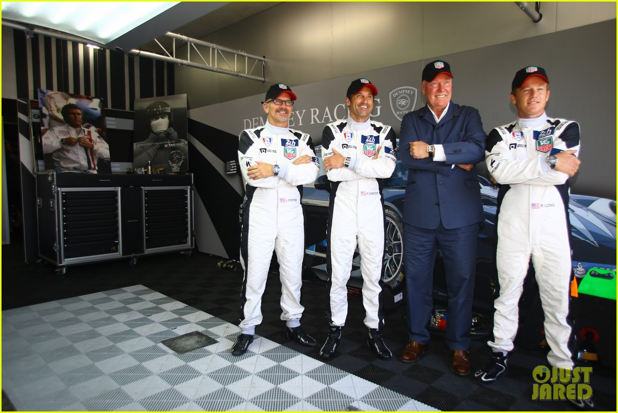 patrick dempsey is back in his racing gear for le mans 123133161