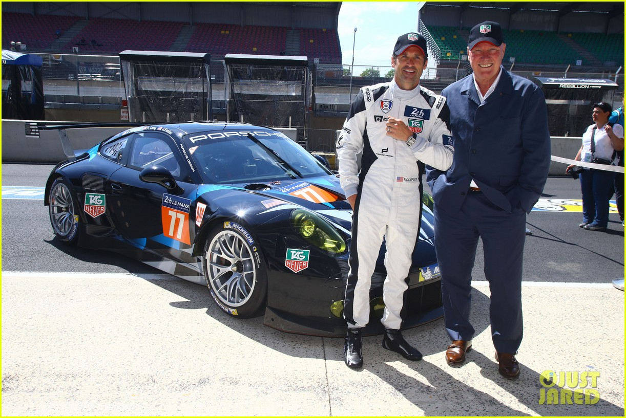patrick dempsey is back in his racing gear for le mans 133133162