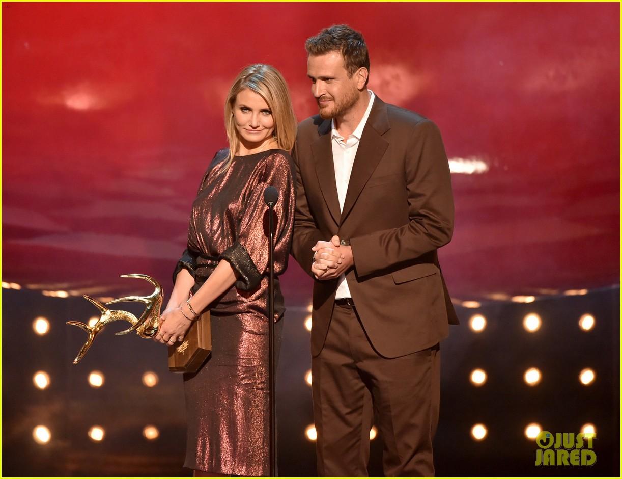 cameron diaz jason segel guys choice awards 2014 023130744