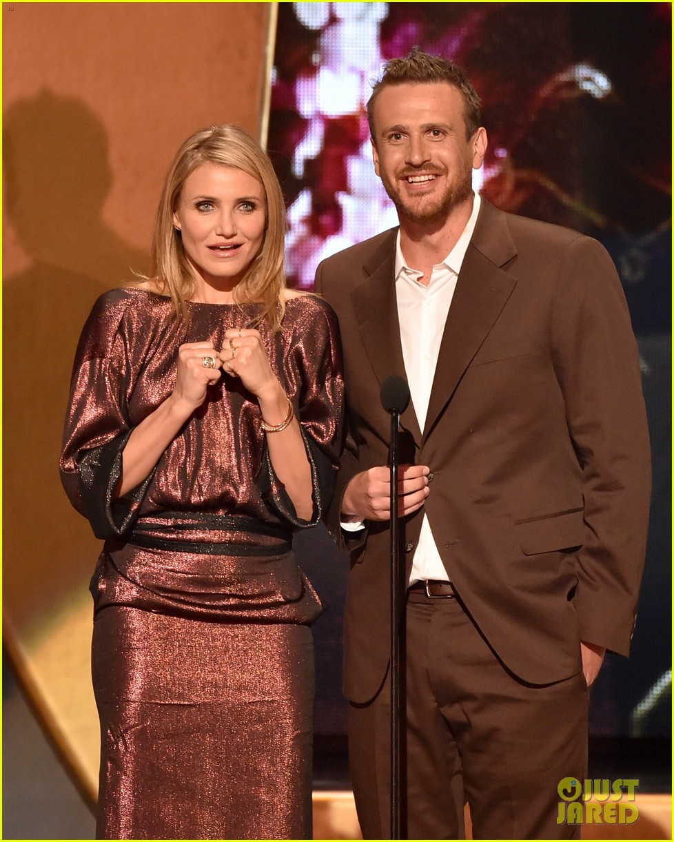 cameron diaz jason segel guys choice awards 2014 063130748