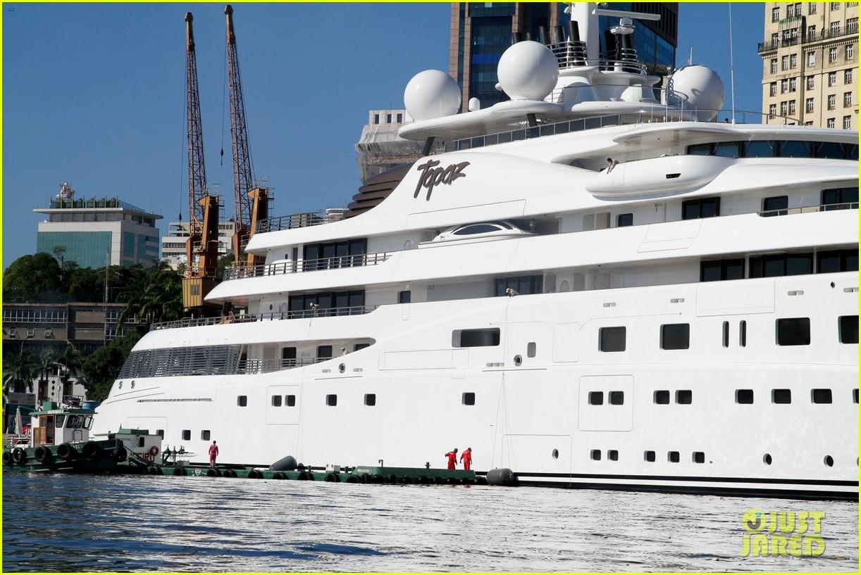 leonardo dicaprio luxury yacht world cup 053134143