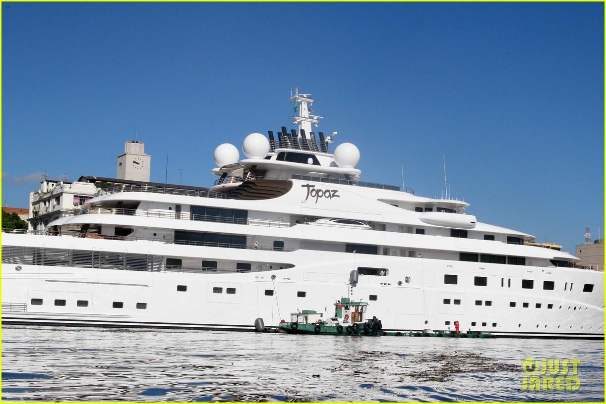 leonardo dicaprio luxury yacht world cup 063134144