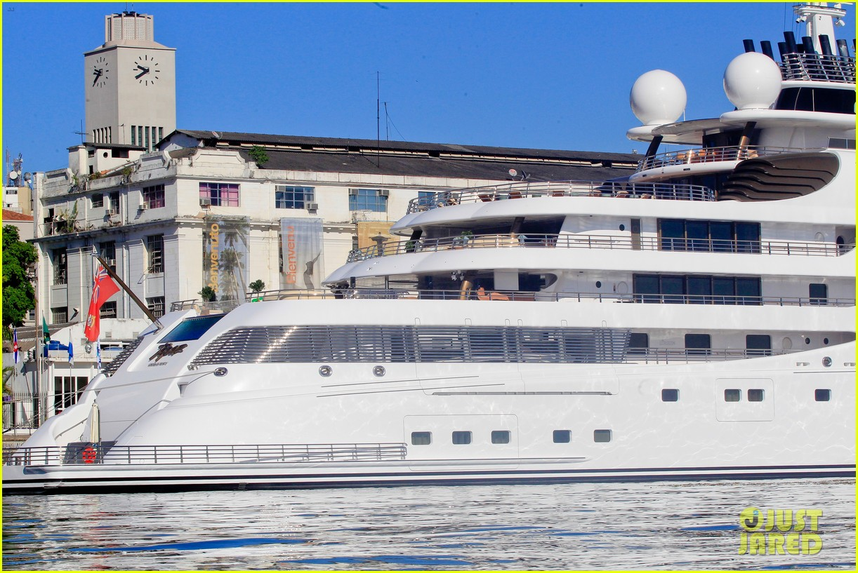leonardo dicaprio luxury yacht world cup 113134149
