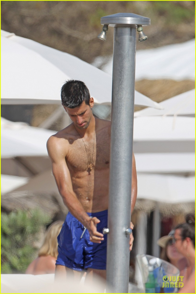novak djovokic shirtless vacation after french open 103132172