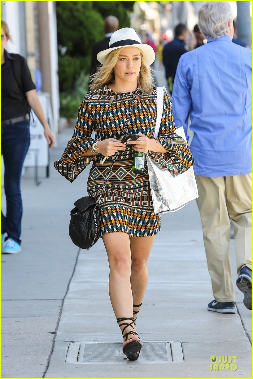 hilary duff mike comrie doing great 073130045