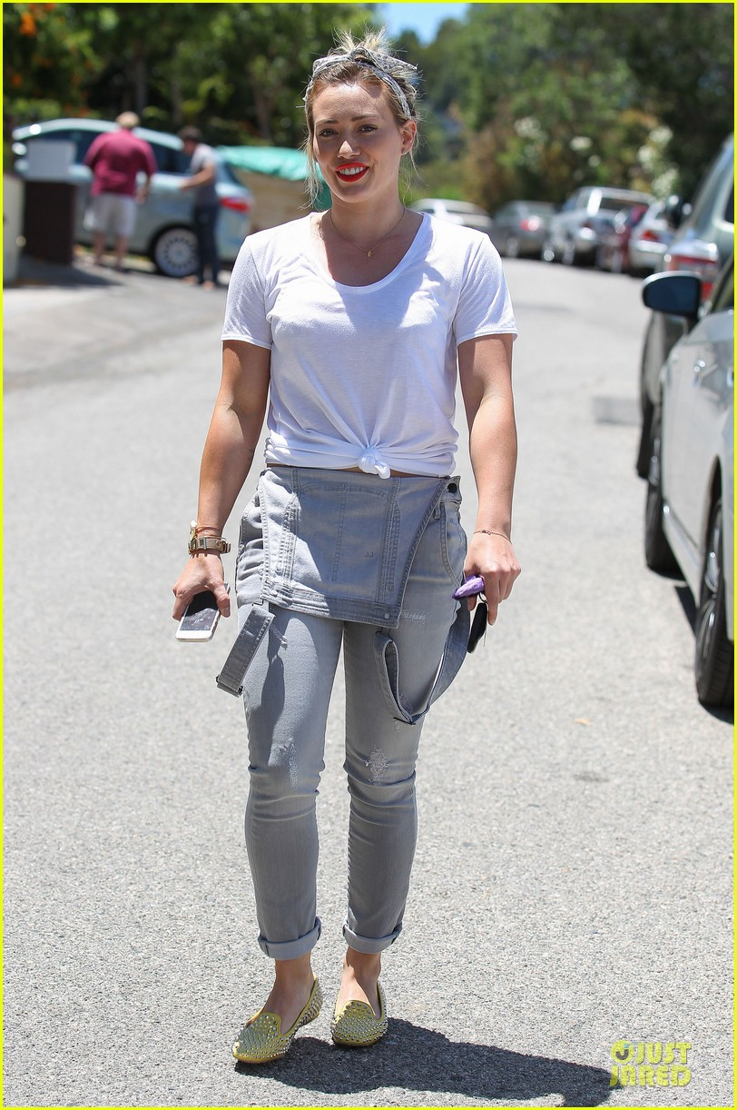 hilary duff overalls cool different 153127593