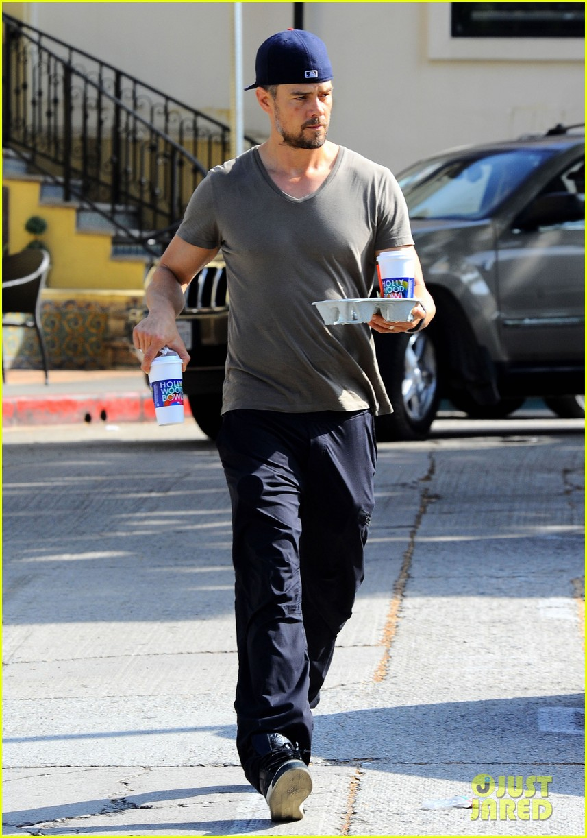 josh duhamel coffee run fathers day 073136337