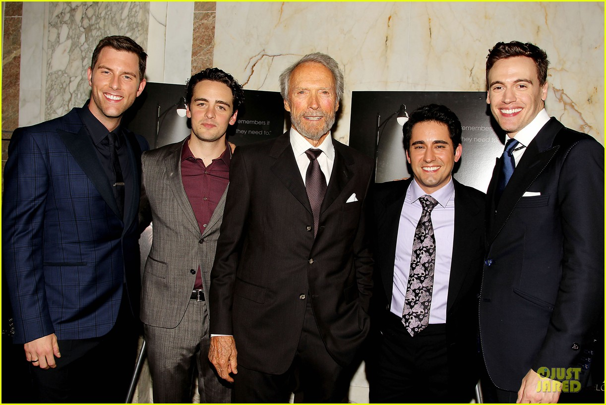 clint eastwood jersey boys cast nyc screening 013132188