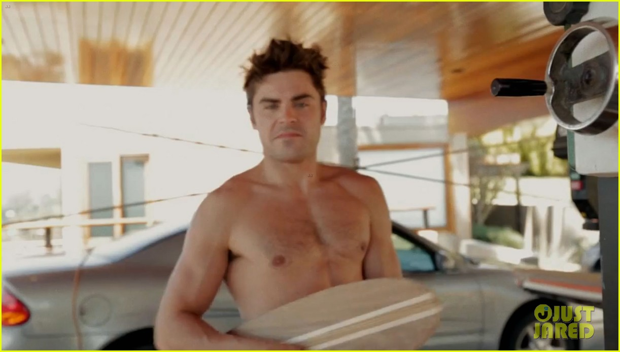 zac efron shirtless making skateboards 01