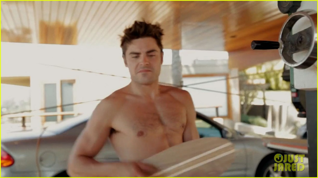 zac efron shirtless making skateboards 183139284