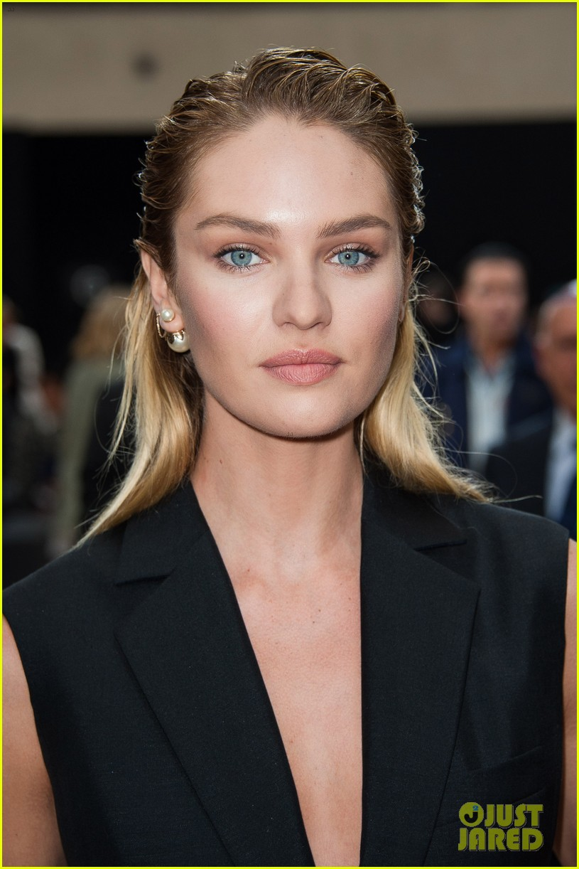 ansel elgort candice swanepoel dior homme show 023145771