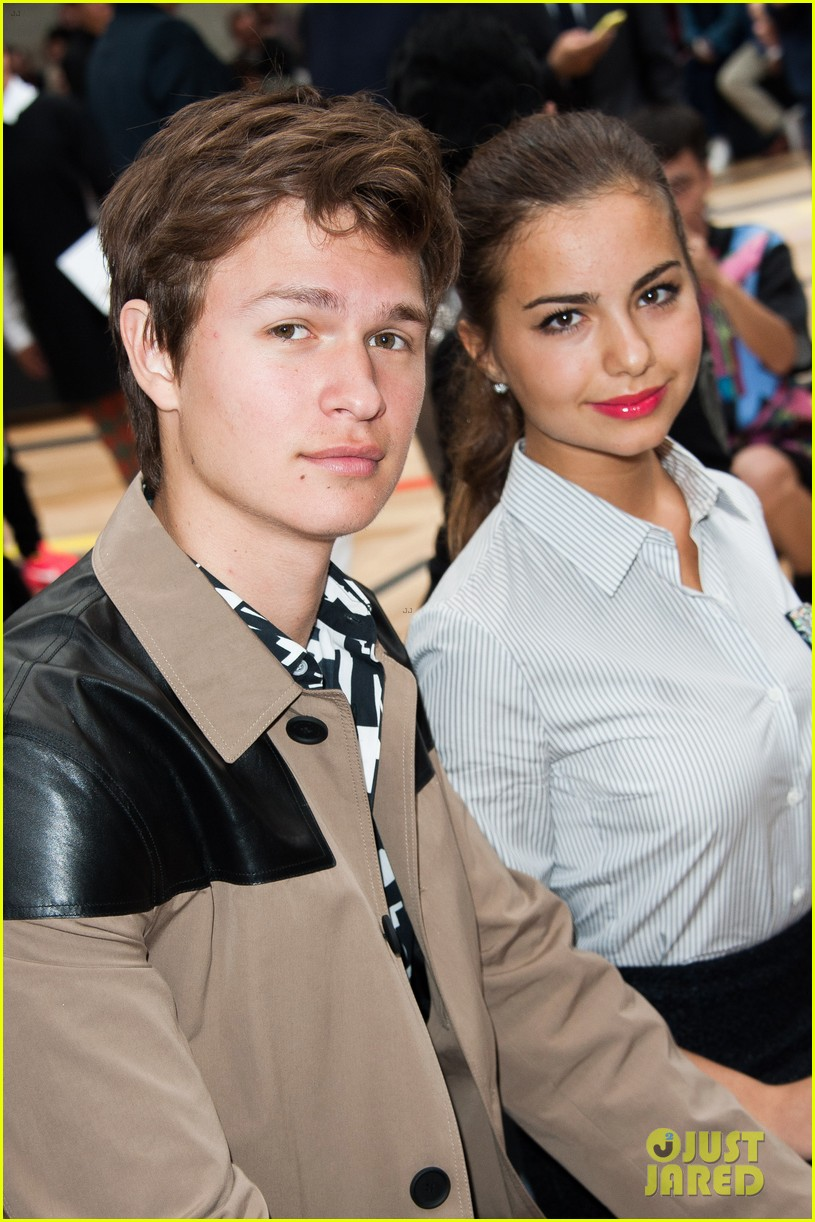 ansel elgort candice swanepoel dior homme show 043145773