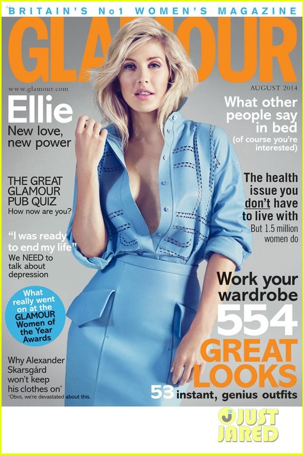 ellie goulding glamour uk august 2014 cover 033144032