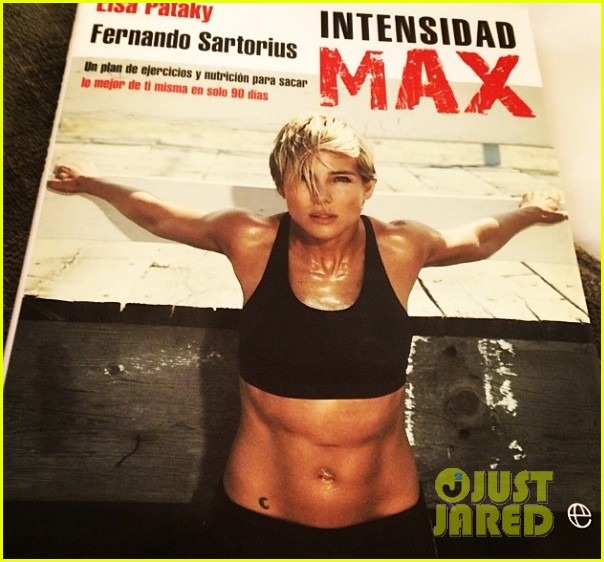 elsa pataky abs for intensity max fitness book 043128882