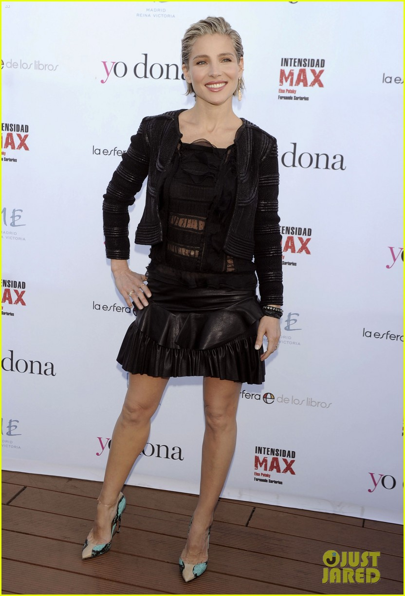 elsa pataky abs for intensity max fitness book 093128887