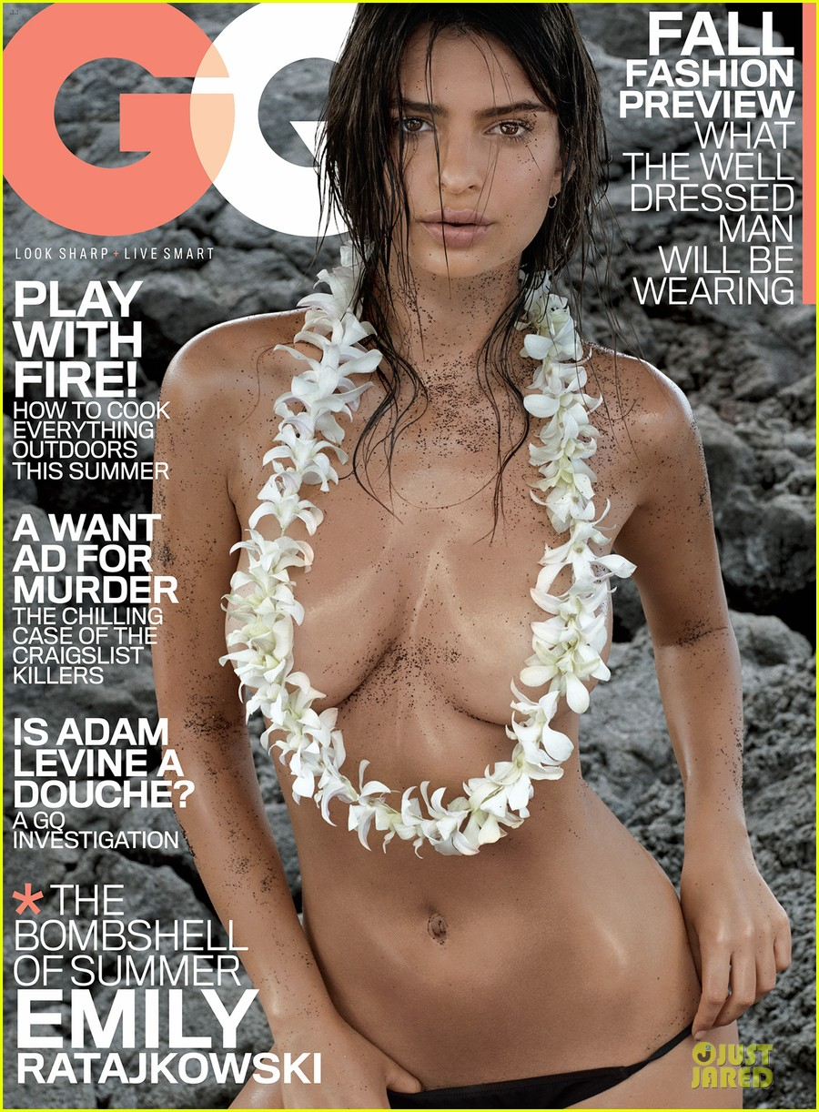 emily ratajkowski sexy topless gq july 2014 cover 033142231