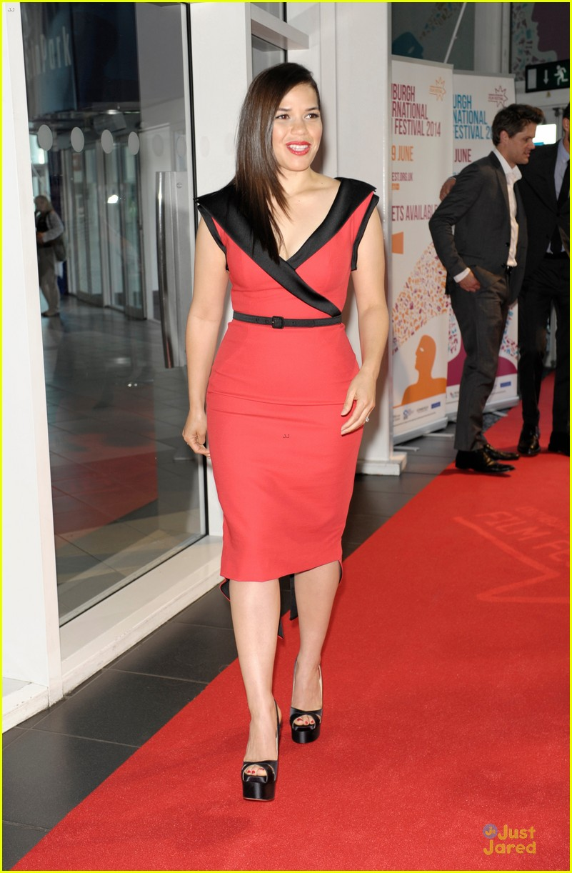 america ferrera ryan piers williams work at xy premiere 013139670