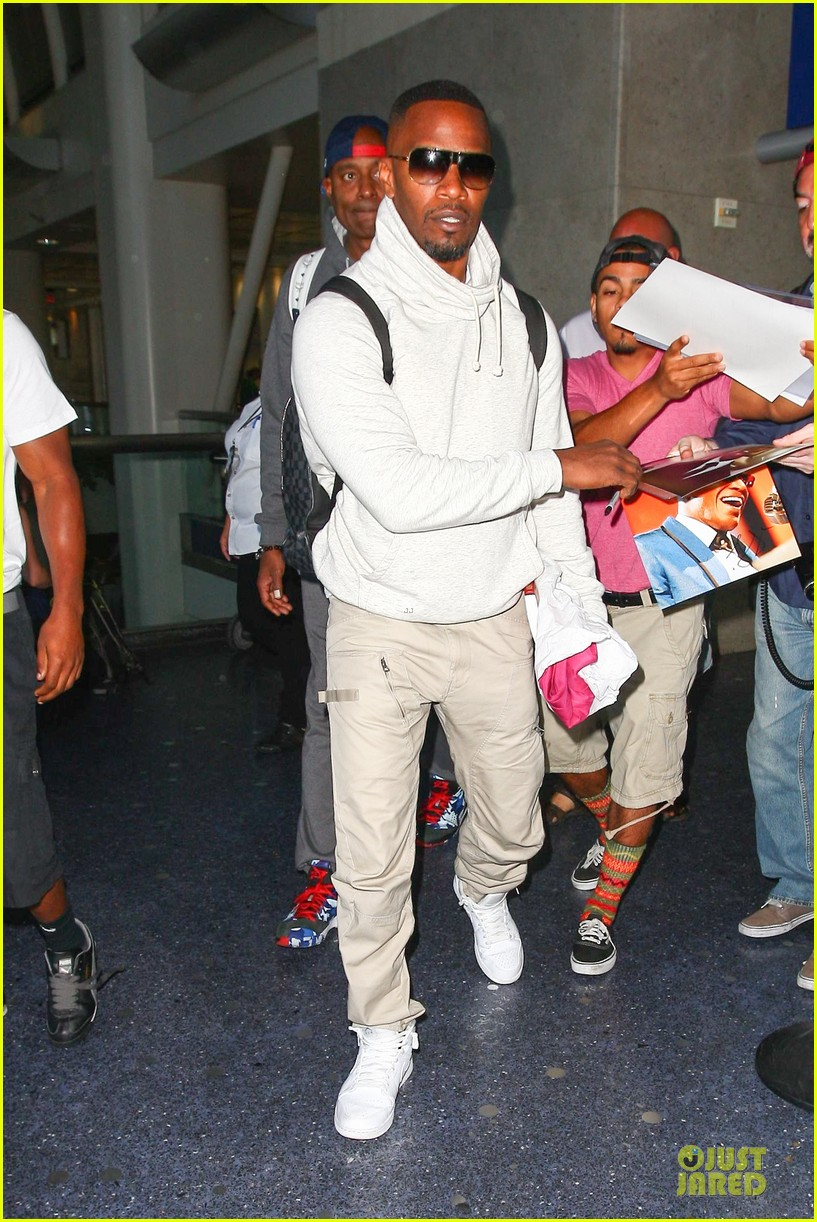jamie foxx says beyonce brought all of miami to concert 013145456