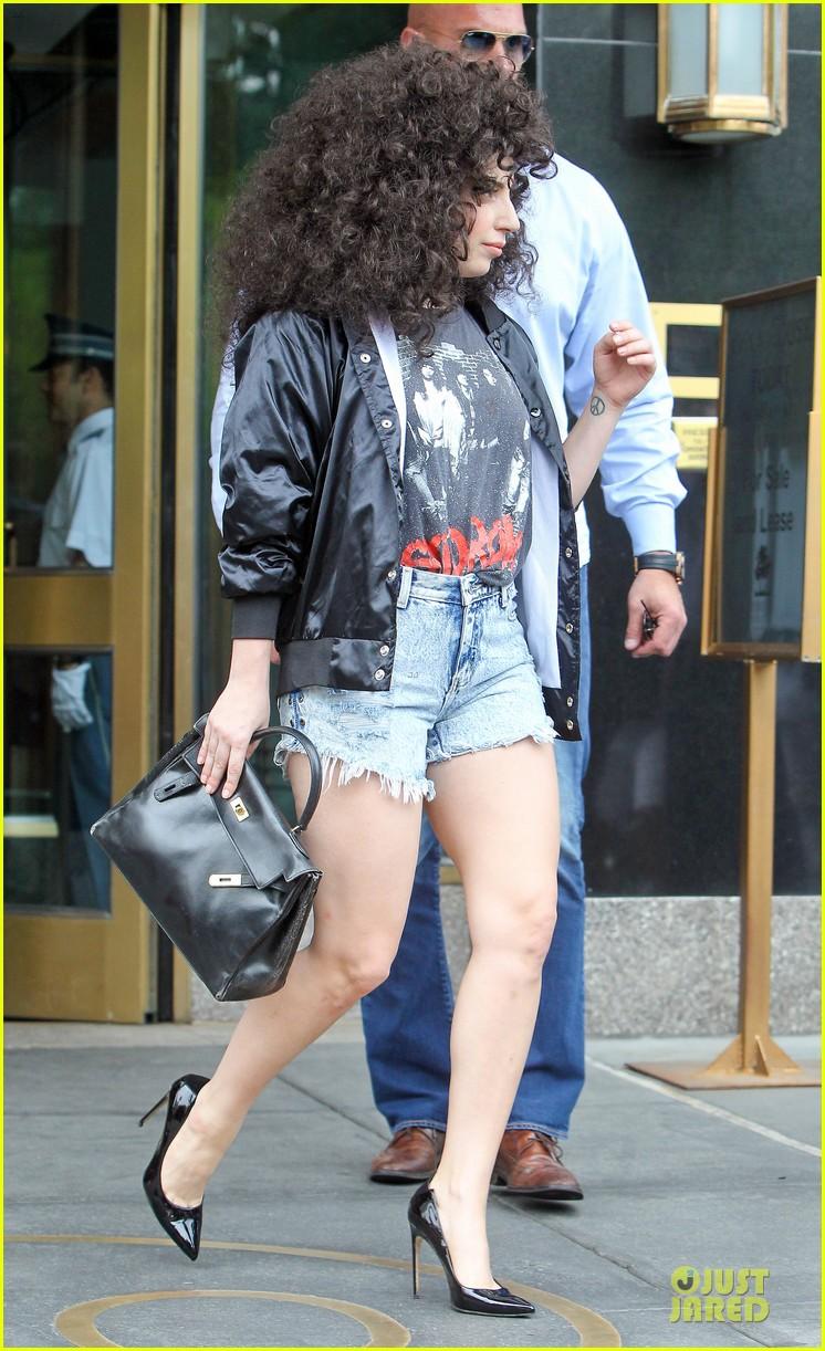 lady gaga skid row rebel in new york city 133132586