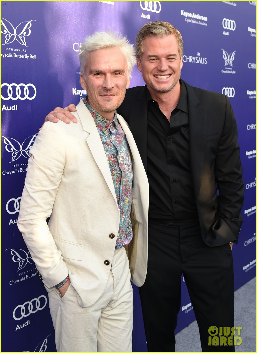 balthazar getty debuts white hair chrysalis butterfly ball 043130809