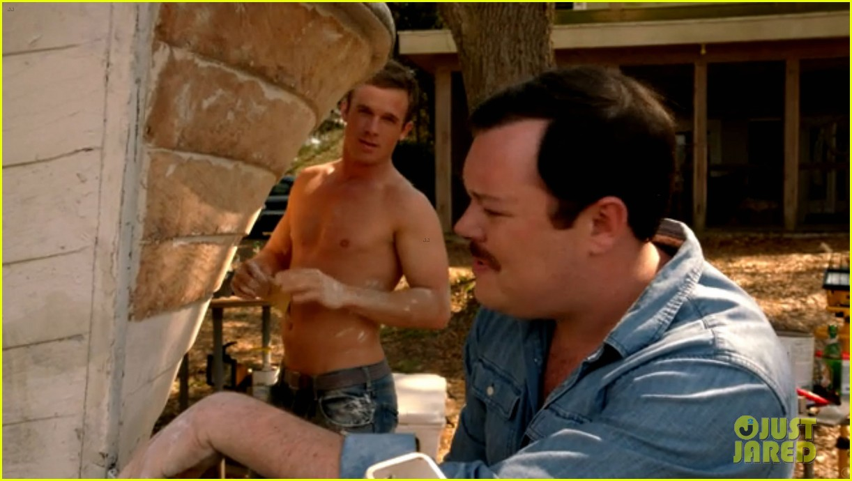 cam gigandet shirtless reckless series premiere 013146734