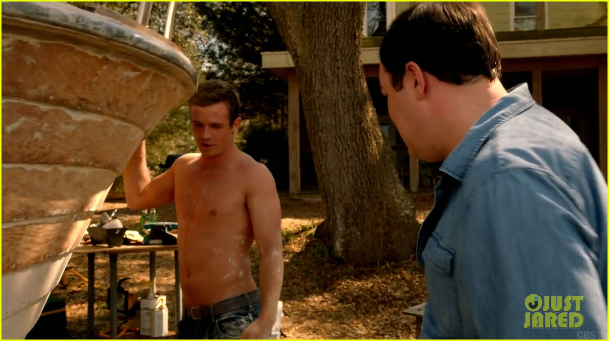 cam gigandet shirtless reckless series premiere 033146736