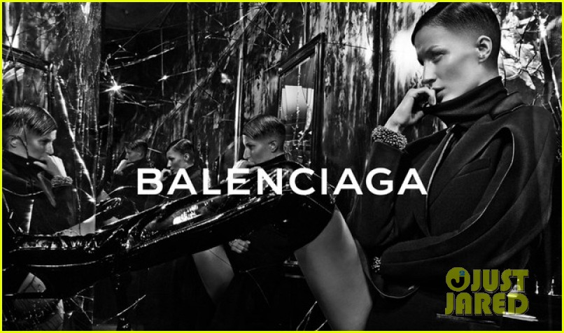 gisele bundchen shaves head balenciaga fall campaign 013145916
