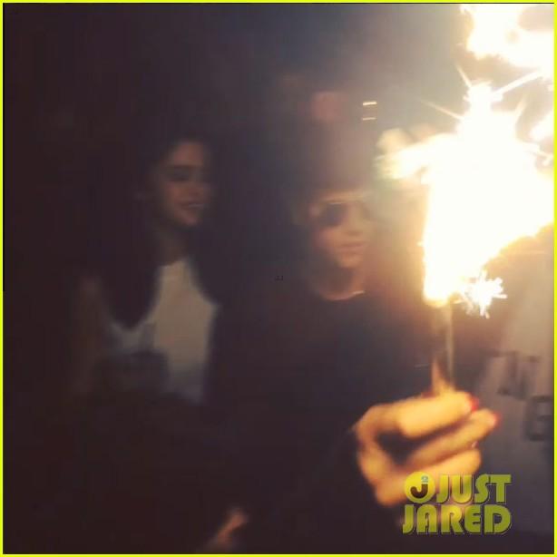 selena gomez justin bieber alfredo flores birthday party 01
