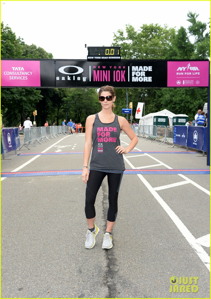 ashley greene oakley new york 10k race 143135441