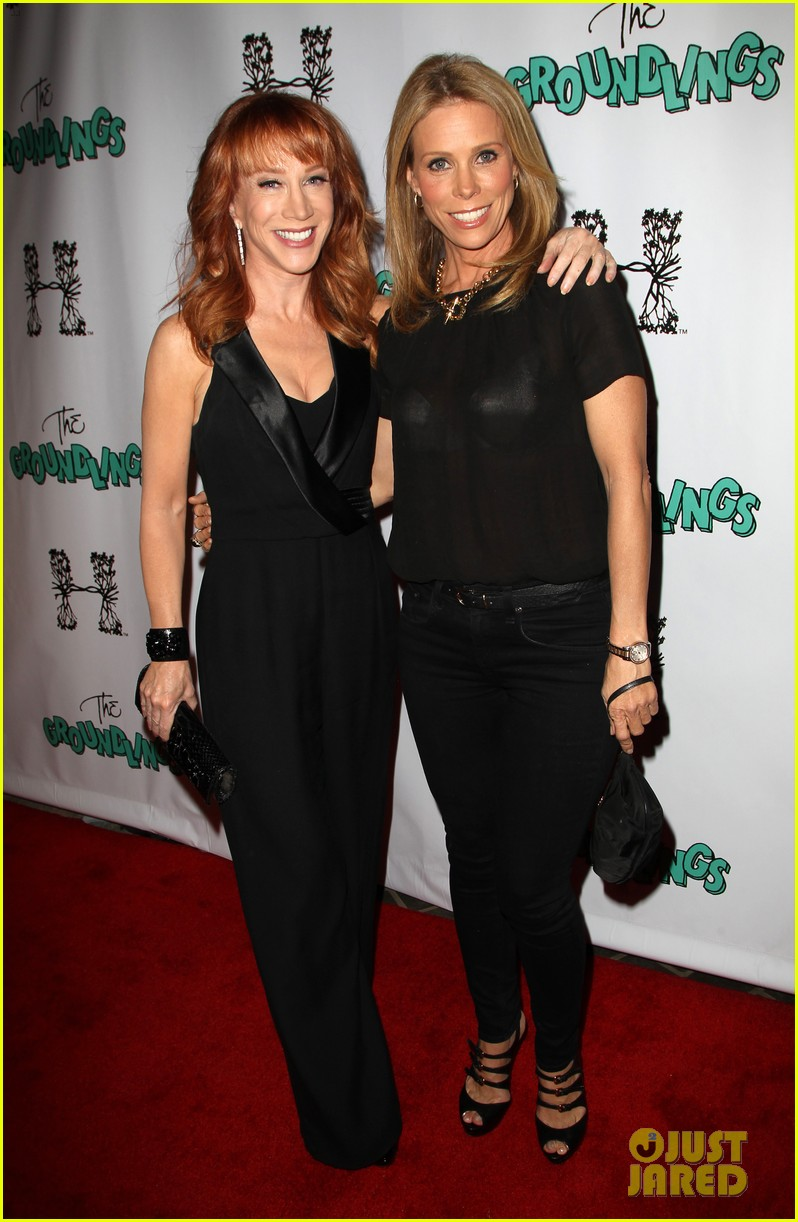kathy griffin cheryl hines groundlings anniversary 013126355