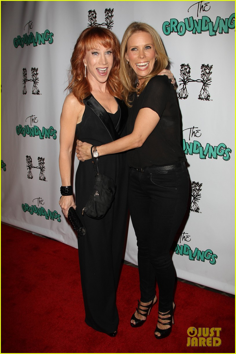 kathy griffin cheryl hines groundlings anniversary 123126366
