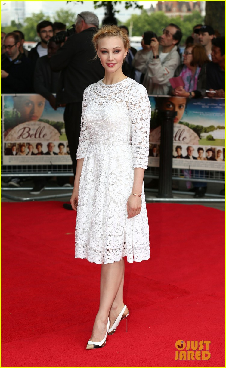 gugu mbatha raw beautiful belle of the ball in london 013129109