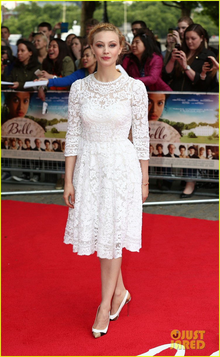 gugu mbatha raw beautiful belle of the ball in london 093129117