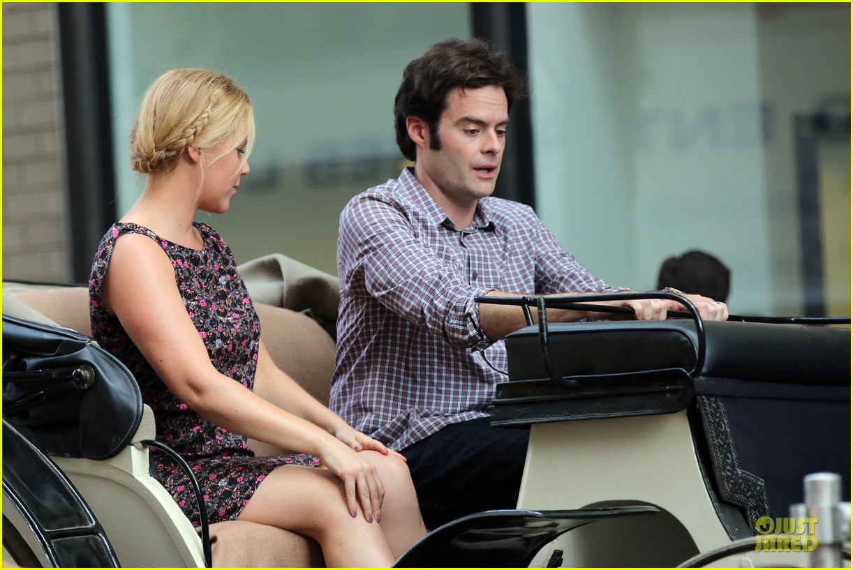 bill hader amy schumer kissing in central park 173145179