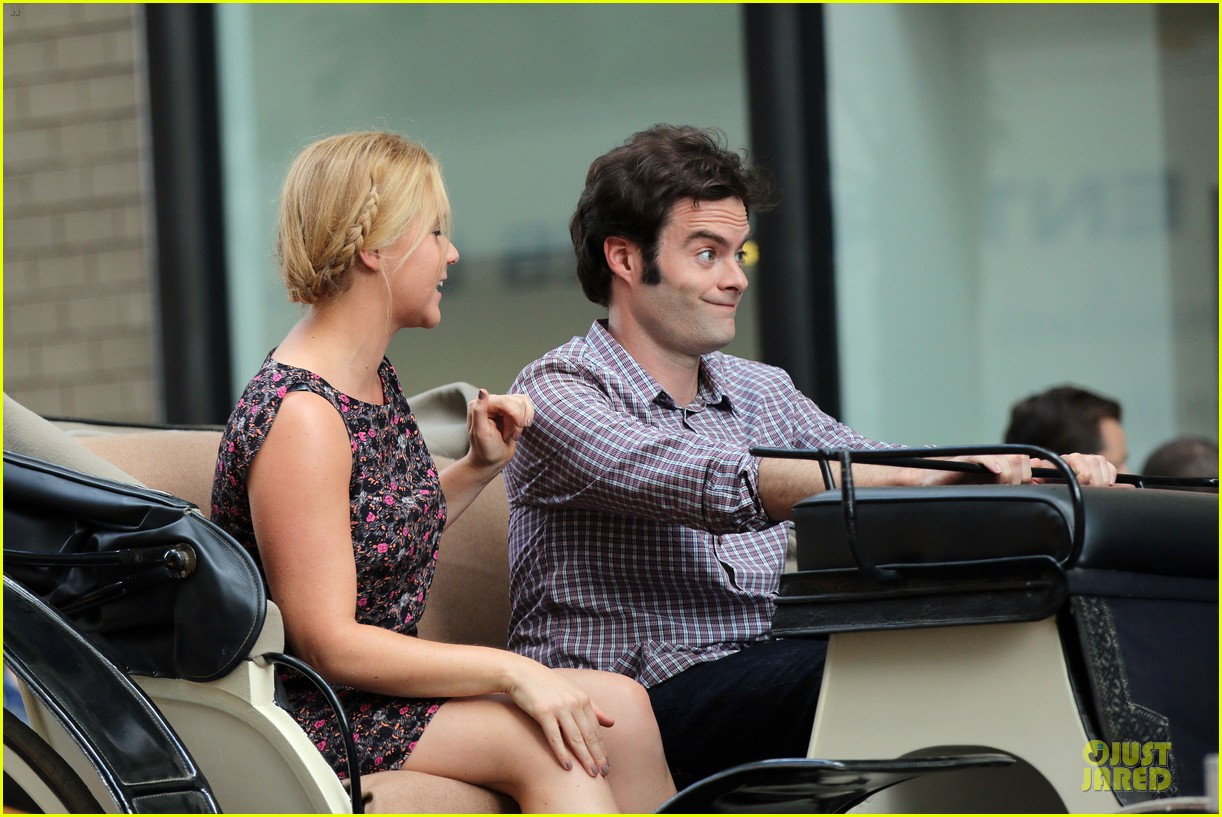 bill hader amy schumer kissing in central park 183145180