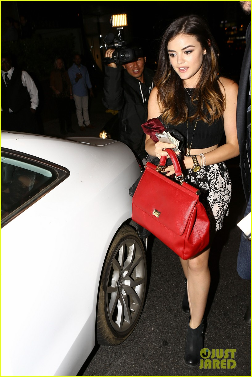 lucy hale supports ex david henrie at his short film screening 023129823