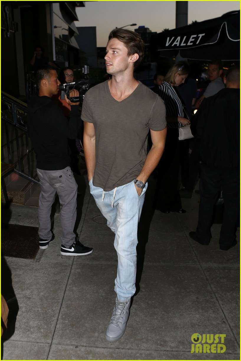 lucy hale supports ex david henrie at his short film screening 073129829