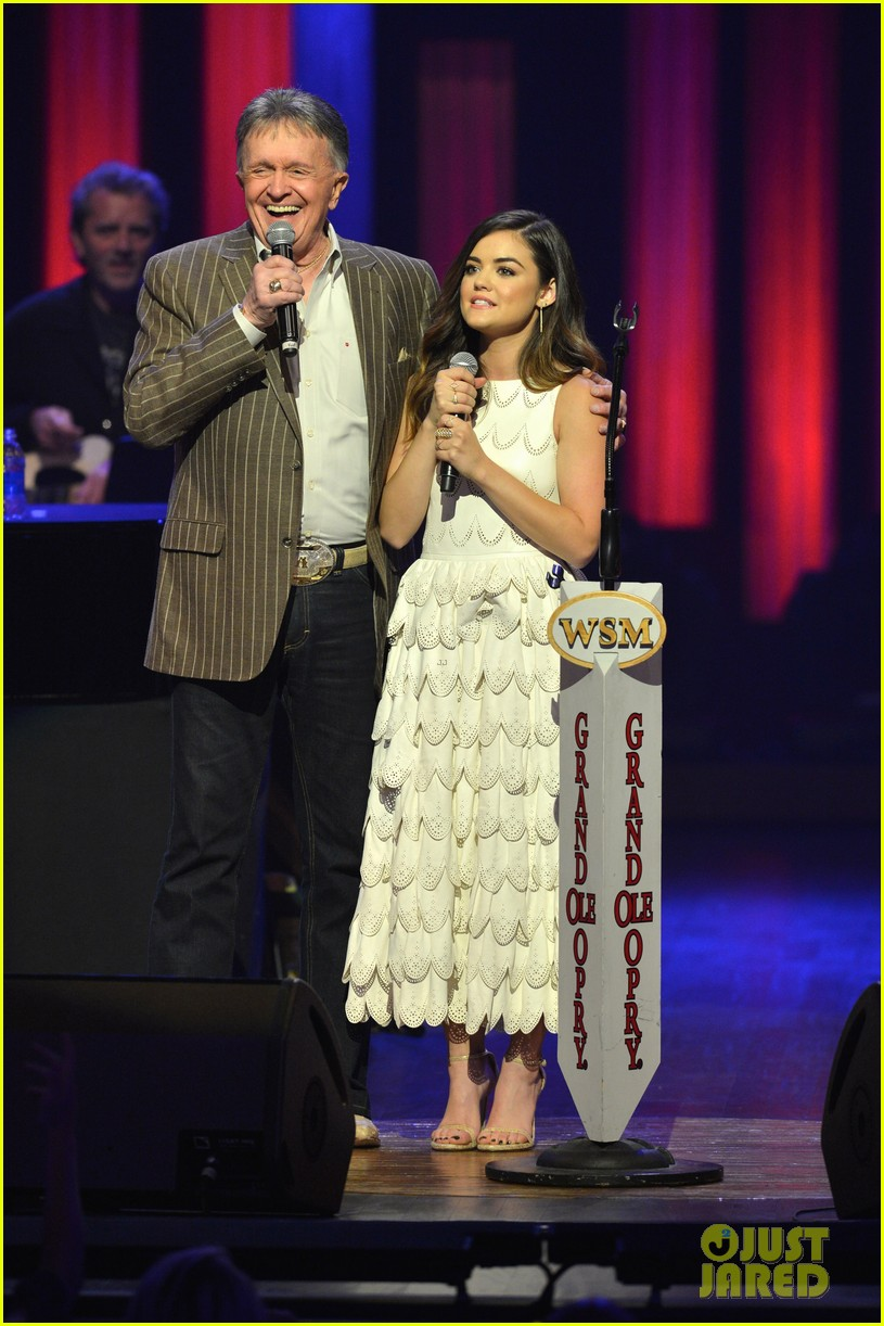 lucy hale makes her grand ole opry debut 03