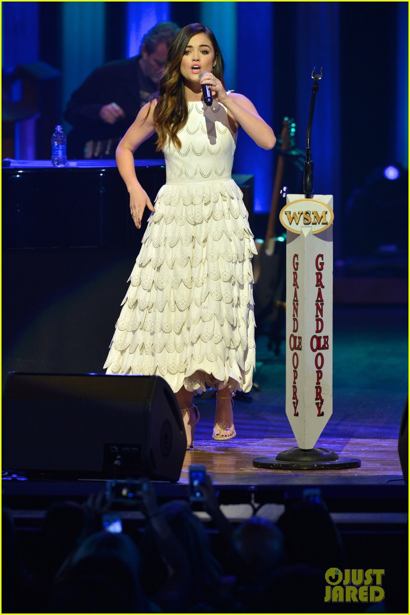 lucy hale makes her grand ole opry debut 13