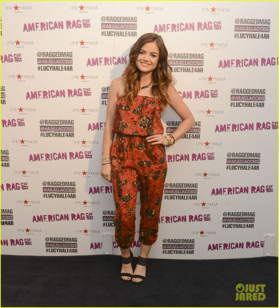 lucy hale all access mall meet up 023135744