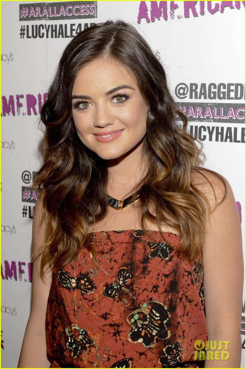 lucy hale all access mall meet up 133135755