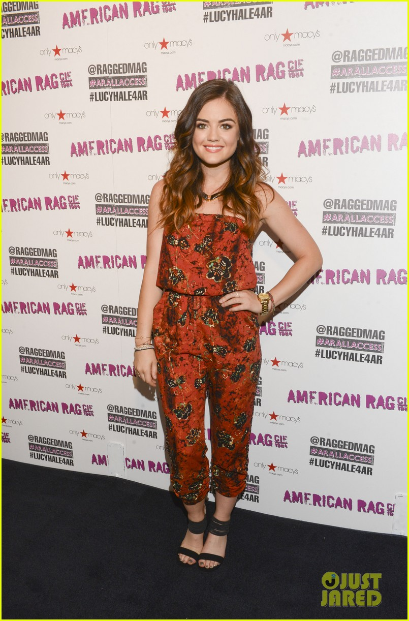 lucy hale all access mall meet up 223135764