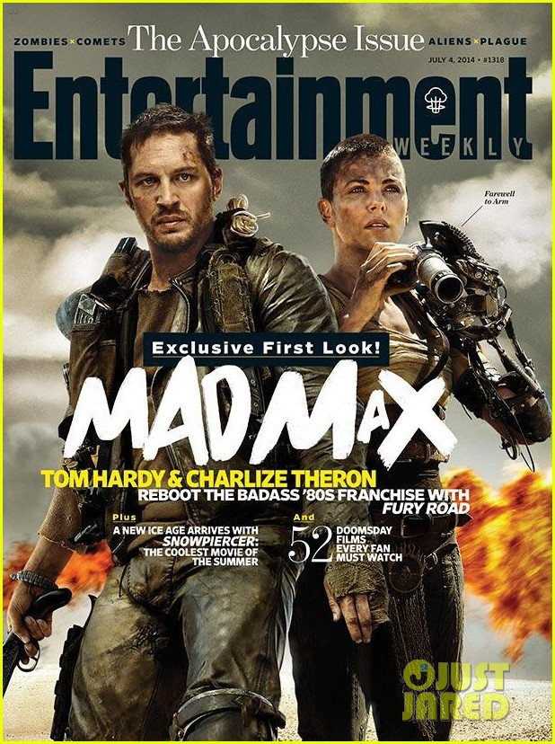 tom hardy charlize theron mad max ew cover 013143058