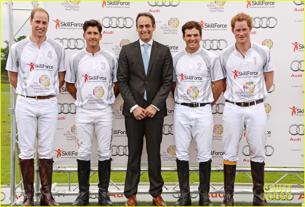 prince harry prince william play in the audi polo challenge 033125648