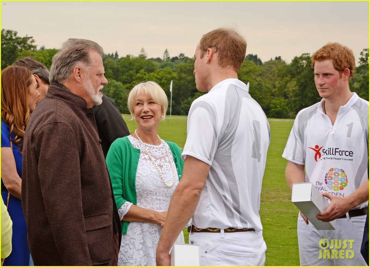prince harry prince william play in the audi polo challenge 043125649