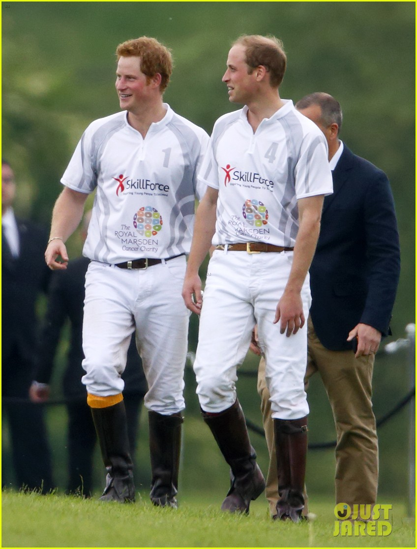 prince harry prince william play in the audi polo challenge 053125650