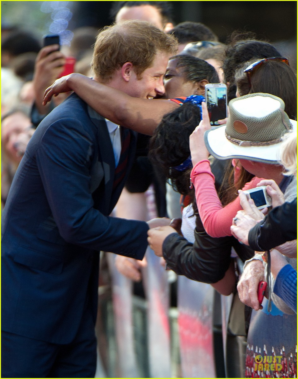 prince harry interaction with goat melt your heart 063132679