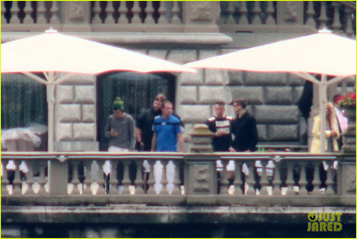 harry styles jumps into lake como 293146825