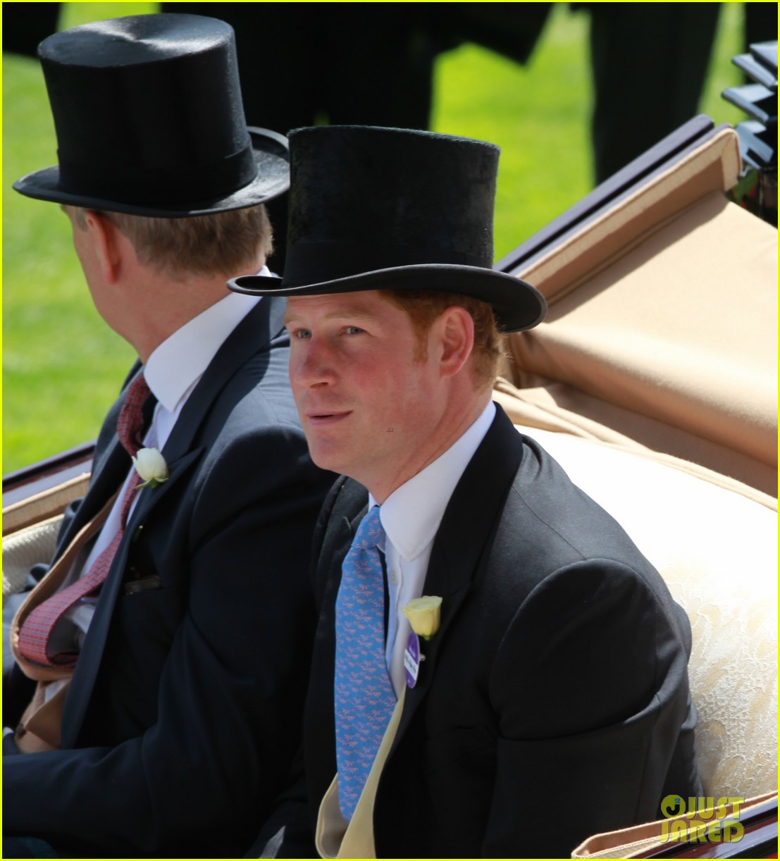 prince harry looks top notch top hat 243137222