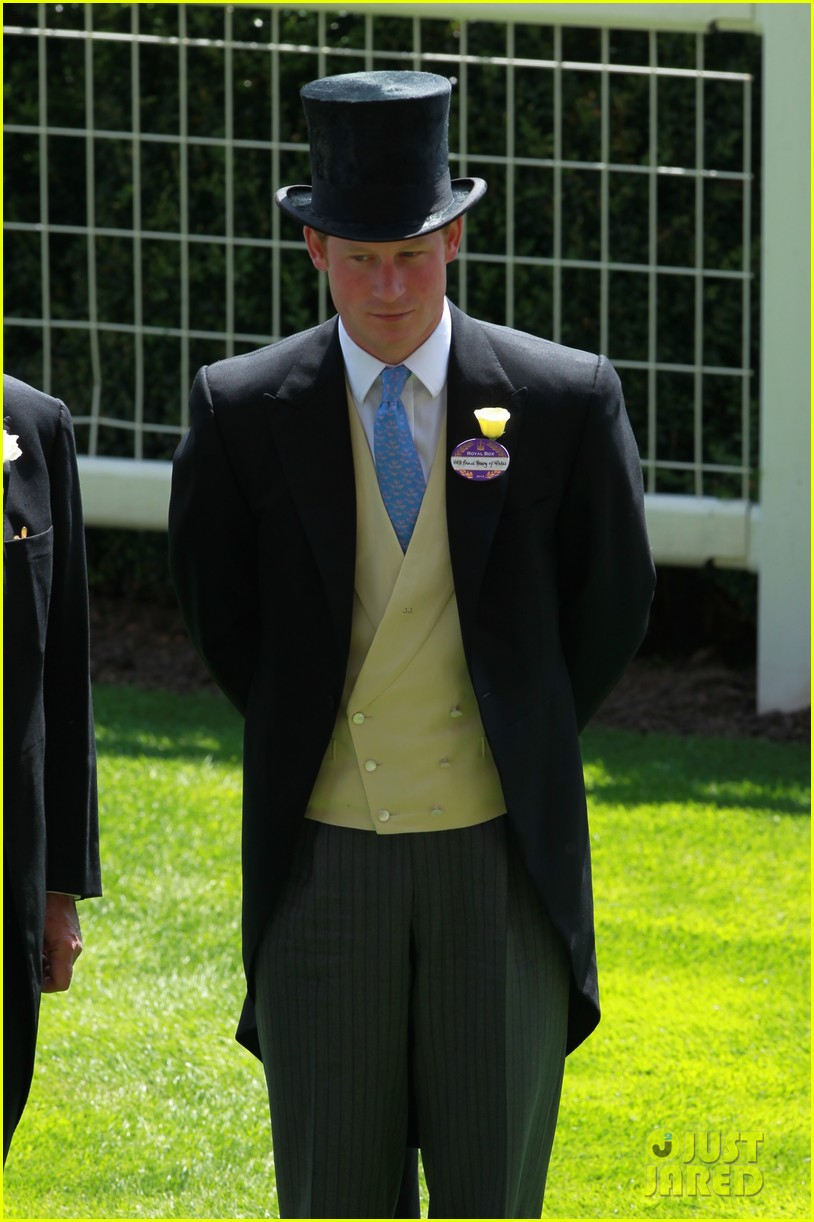 prince harry looks top notch top hat 263137224